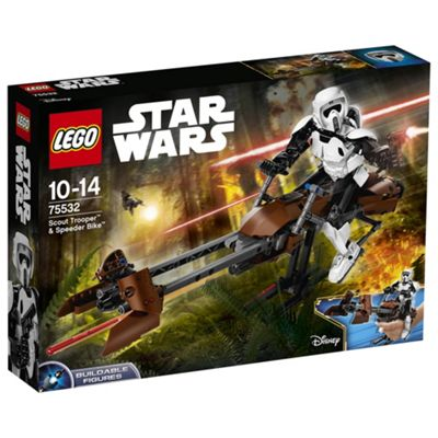 LEGO Star Wars Scout Trooper & Speeder Bike 75532 Buildable Figure