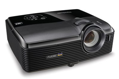 Viewsonic Pro8200 DLP Projector, 1080p, 16:9, NTSC, PAL, SECAM, HDTV, 1920 x 1080, 3000:1, 2000 lm, HDMI, VGA Warranty