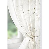 Wild Flower Voile Curtain Panel