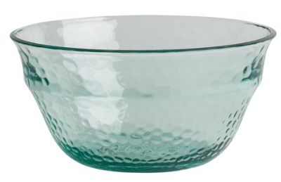 Navigate Recycled Glass Effect Acrylic Salad Bowl