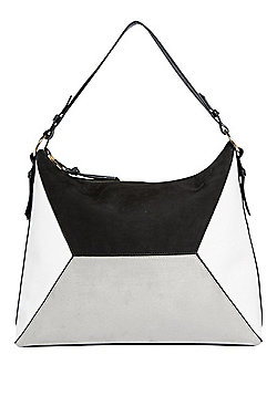 F&F Colour Block Hobo Bag Multi One Size