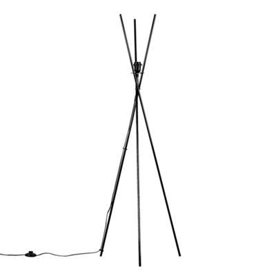 Crawford Tripod Floor Lamp Base - Black