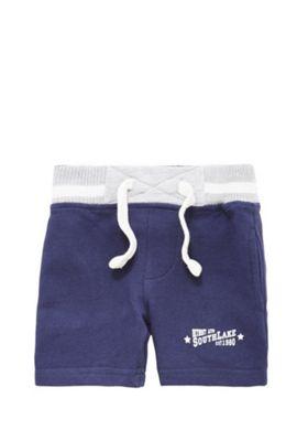 Minoti Jersey Shorts 2-3 years Navy