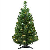 Tree Classics 60cm (2ft) Artic Spruce Artificial Christmas Tree with LED (24-72-300L)