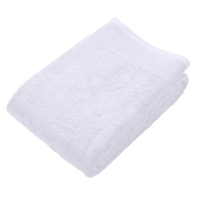 Homescapes White Luxury Jumbo Towel 500 GSM 100% Egyptian Cotton, 95 x 180 cm