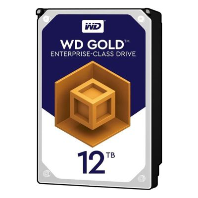WD 12TB Gold 256MB 3.5IN SATA 6GB/S 7200RPM Hard Drive