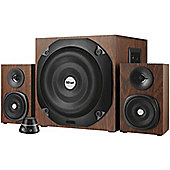 Trust Vigor 2.1 Subwoofer Speaker Set (Brown)