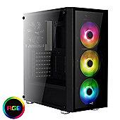 Cube Falcon Gaming PC i7k Six Core 16GB 120GB SSD 1TB HDD GeForce GTX 1070 8GB Graphics Card
