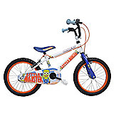 "Concept Boy'S Little Monster Mountain Bike White 16"" Wheel"