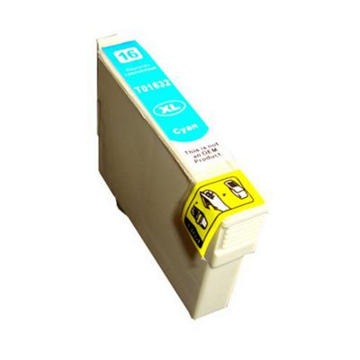 Remanufactured 16XL (T163240) Cyan High Capacity Ink Cartridge