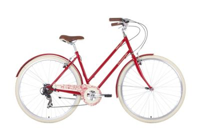 BARRACUDA DELPHINUS 7 ADULT VINTAGE BICYCLE RED
