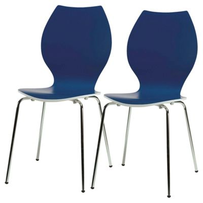 Candy Chairs Pair Blue