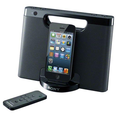 Sony RDPM7IPNB Speakerdock for iPhone 5/5s/6/6 Plus