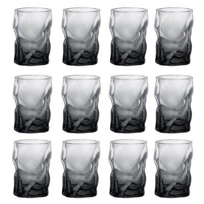 Bormioli Rocco Sorgente Glass Drinking Tumblers - Onyx - 300ml - Pack of 12