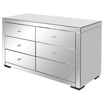 buy home essence mirrored chest of drawers from our chests of drawers range tesco. Black Bedroom Furniture Sets. Home Design Ideas