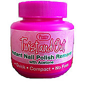 Pretty Perfect Twist and Out Instant Nail Polish Remover With Acetone 55ml