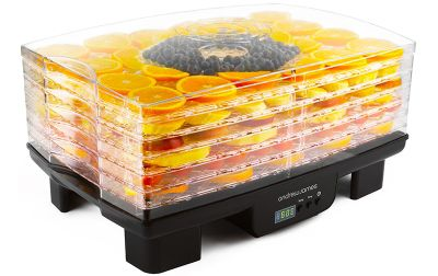 Andrew James Digital Food Dehydrator with 6 Trays - Timer & Adjustable Temperature Control