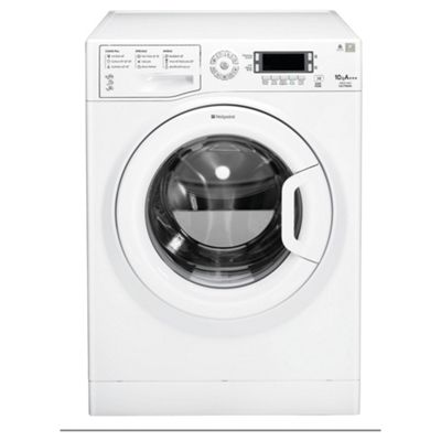 Hotpoint WMUD10637P Ultima, Freestanding Washing Machine, 10Kg Wash Load, 1600 RPM Spin, A+++ Energy Rating, White