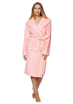 F&F Stitch Detail Dressing Gown - Pink