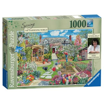 Ravensburger Spring The Gardening World 1000-Piece Jigsaw Puzzle