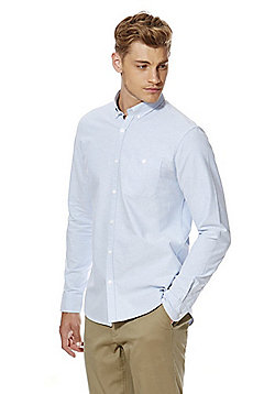 F&F Twill Oxford Shirt - Blue