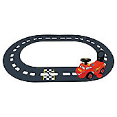 Disney Cars McQueen 3-In-1 Electric On Track Ride On