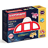 Magformers My First Buggy Car Set Red