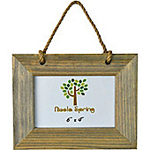 Nicola Spring Driftwood Hanging Photo Picture Frame - 6 x 4""