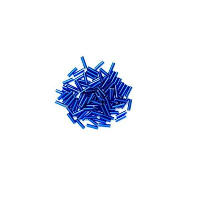 Impex Bugle Beads Royal Blue 8 Grams