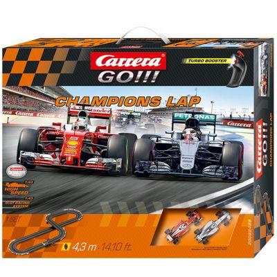 CARRERA Go Champions Lap - Merc / Ferrari F1 4.3m 62428 Boxed Set