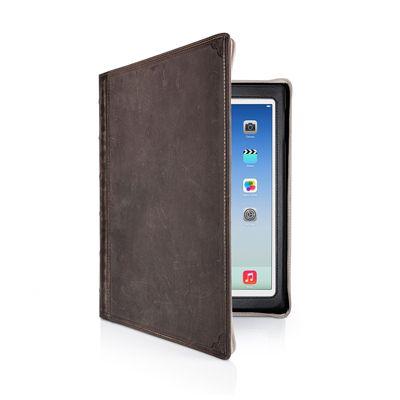 TwelveSouth BookBook Folio Brown Leather for iPad Air Vintage
