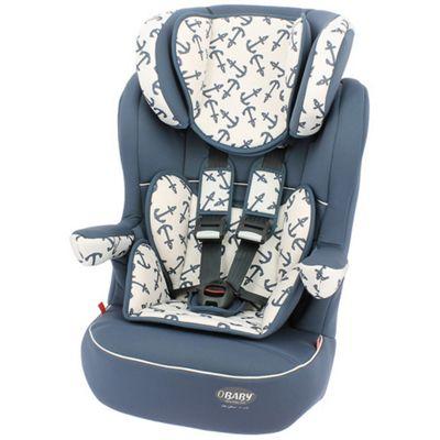 OBaby Group 1-2-3 High Back Booster Car Seat (Little Sailor)