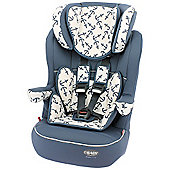OBaby Group 1-2-3 High Back Booster Car Seat (Little Sailor)