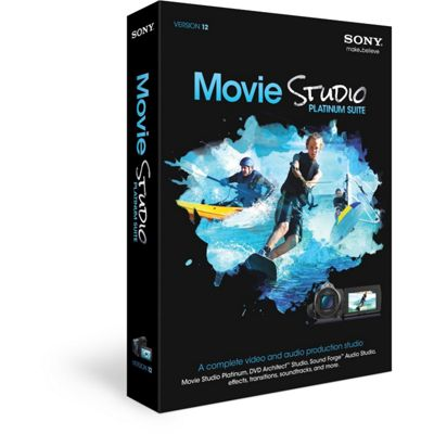 Sony Movie Studio HD: Platinum Suite 12 (PC).