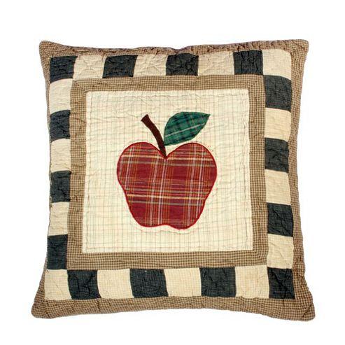 Woven Magic Primitive Sampler Antique Plaids Apple Cushion