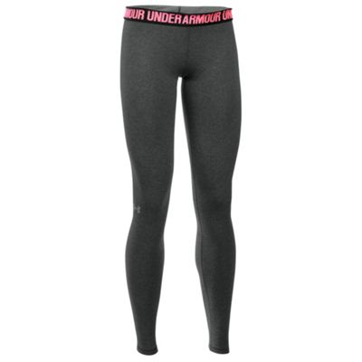 Under Armour Favourite Wordmark Womens Legging Grey - UK 14-16