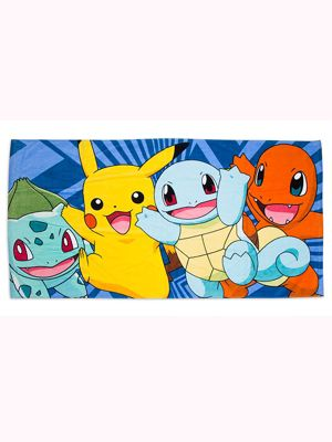 Pokemon Cotton Beach Towel