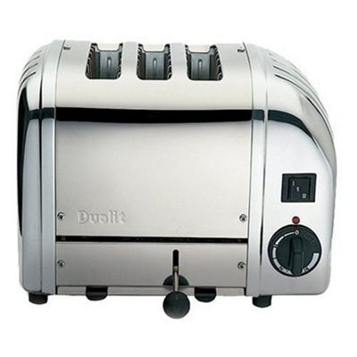 Dualit 3 Slot Combi Vario Toaster - Polished