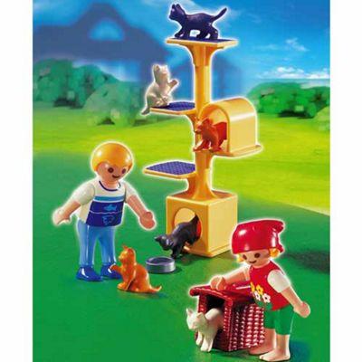 Playmobil - Cat Scratch Tree 4347
