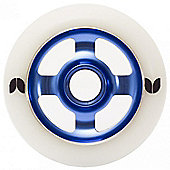 Blazer 4 Spoke Stormer Wheel - 100mm - Blue
