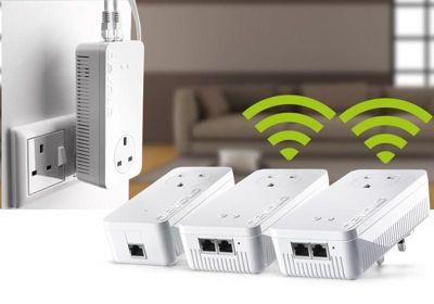 devolo dLAN powerline 1200+ AC Whole Home WiFi Kit