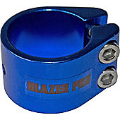 Blazer Double Collar Scooter Clamp - Blue