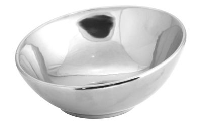 Chrome Large Bowl
