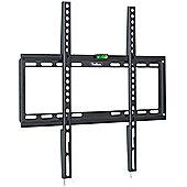 """VonHaus 32-55"""" Fixed TV Wall Mount Bracket with Ultra Slim Design"""