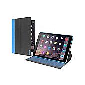 """Cygnett TekShell Slimline 7.9"""" Folio Black Blue Tablet case for Apple iPad"""