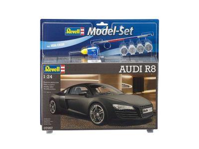 Revell Model Set - Audi R8 (1:24 Scale)