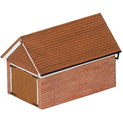 HORNBY Skaledale R9826 Detached Brick Garage
