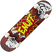 Enuff Pow Red 7.75inch Complete Skateboard