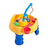 Homcom 13pcs Fishing Game Set Kids Education Toy Reflex Training
