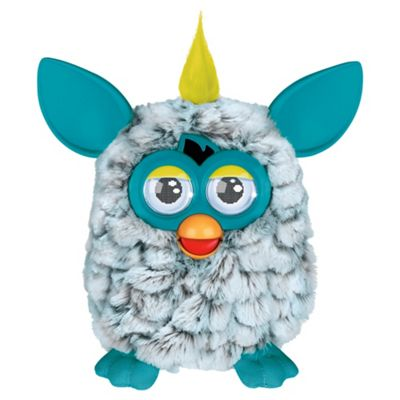 Furby Cool White / Teal
